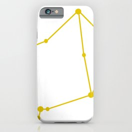 Libra (Gold & White) iPhone Case