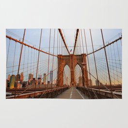 Brooklyn Bridge Sunrise Rug