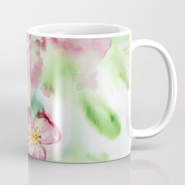 Spring flowers and bee Coffee Mug