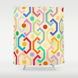 Ethnic Pattern (by day) Shower Curtain