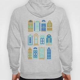 Moroccan Doors – Navy Palette Hoody