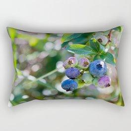 Blueberry Farm Rectangular Pillow