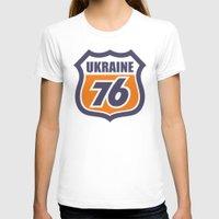 ukraine T-shirts featuring DgM UKRAINE 76 by DgMa