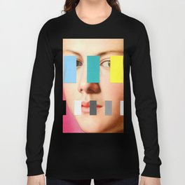 Portrait With A Spectrum 3 Long Sleeve T-shirt