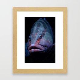 Ugly Framed Art Print