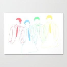 J&P&G&R Canvas Print