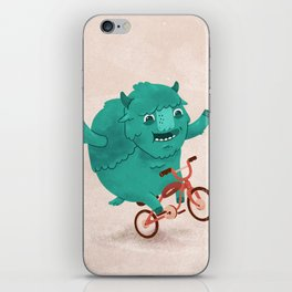 Bicycle Buffalo iPhone Skin