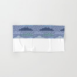 pattern with clouds. Vector pattern Hand & Bath Towel