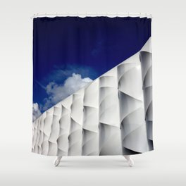 Basketball Arena - London 2012 - Olympic Park Shower Curtain