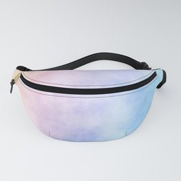 Pink Cotton Candy Sky Fanny Pack