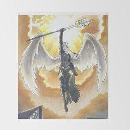 Archangel Avacyn Throw Blanket