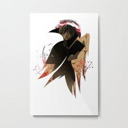 Raven's cloak Yagami cardboard light Metal Print