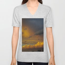 Laingsburg Sunset Unisex V-Neck