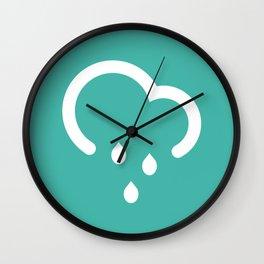 Light Shower - Better Weather Wall Clock