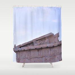 Parthenon Pediment Shower Curtain