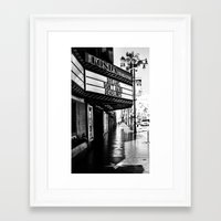 almost famous Framed Art Prints featuring Almost Famous by K. Heffernan