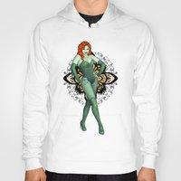 poison ivy Hoodies featuring Poison Ivy by CatAstrophe