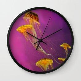Jellies Wall Clock