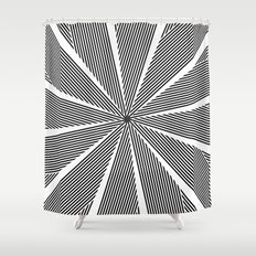 5050 No.9 Shower Curtain