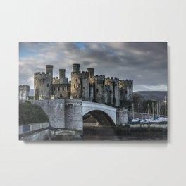 Conwy Castle, North Wales Metal Print