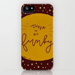 Time to get Funky iPhone Case
