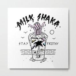 Milk Shaka Metal Print