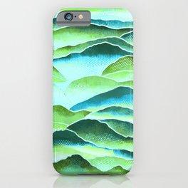 Rainforest Mountains  iPhone Case