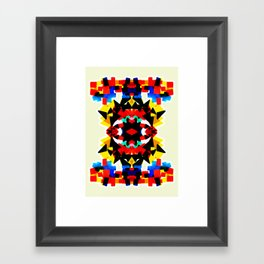 BSTRCT01 Framed Art Print