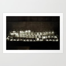 It seems to me, you live your life, like a candle in the wind. Art Print