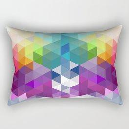 Pixel Prism Rectangular Pillow