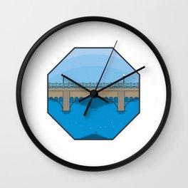 Explore Saskatoon Wall Clock