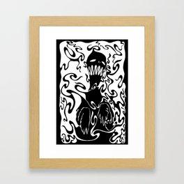 Boogeyman for Dark shirts? Framed Art Print