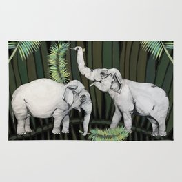 The Elephant Queens Rug