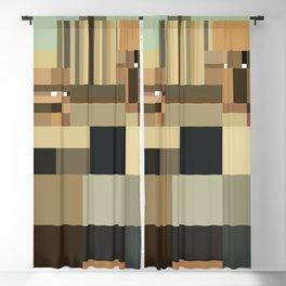 Minimalist American Gothic Blackout Curtain