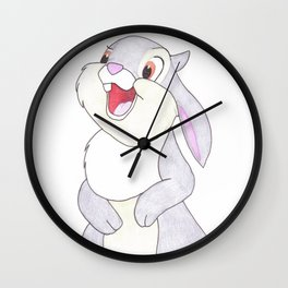 thumper from bambi Wall Clock