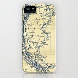 Patagonia - Blue Vintage iPhone Case