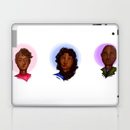 They Share Everything Laptop & iPad Skin