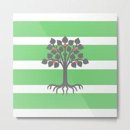 Be Greener Metal Print