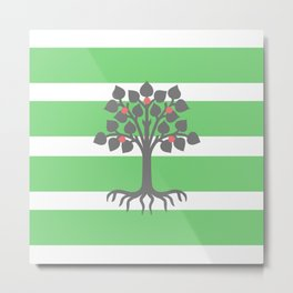 Be Greener Metal Print