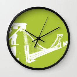 Clifton [Green] Wall Clock
