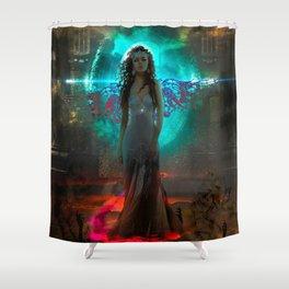 Malevolence Shower Curtain