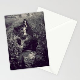 Began in darkness Stationery Cards