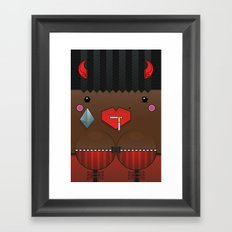 Cookie the Valentine's Spirit Framed Art Print