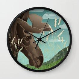 Shiras Moose Wall Clock