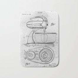 Food Mixer Bath Mat