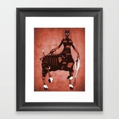 The Horse  Framed Art Print