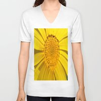 sunshine V-neck T-shirts featuring Sunshine by Louisa Catharine Photography And Art