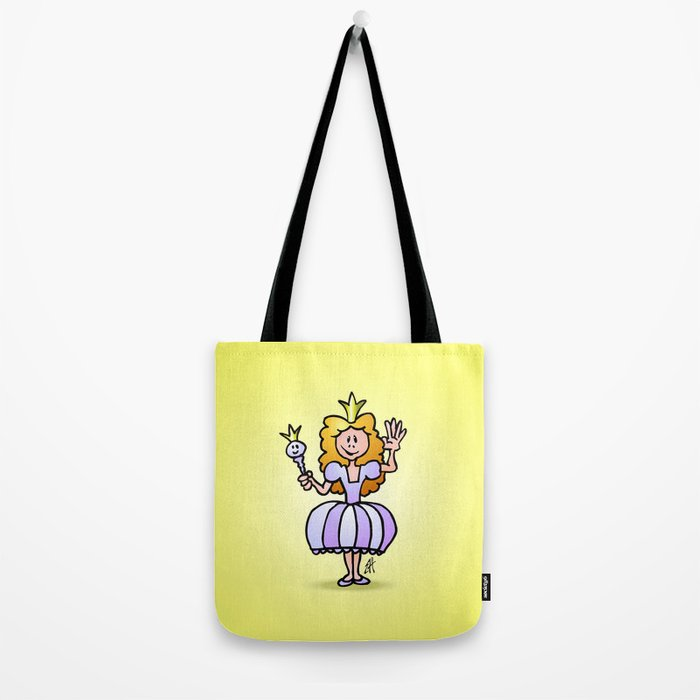 Pretty Princess from a fairy tale Tote Bag