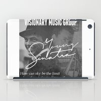 frank sinatra iPad Cases featuring Logic x Frank Sinatra by Victor Lopez