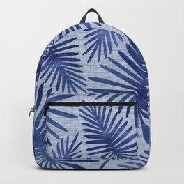 Mid Century Meets Mediterranean - Tropical Print Backpack